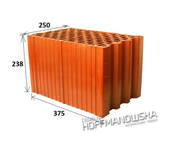 Pustak Ceramiczny Thermopor 25 P W Leier Hoffmanowska